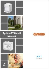 Modulový systém Gewiss Combi 27