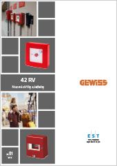 Nouzové skříňky Gewiss 42 RV