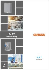 Multifunkční základny Gewiss 42 TV