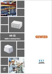 Nástěnné rozbočovací krabice Gewiss 44 CE