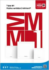 Katalog velmi tichých ventilátorů Helios MiniVent M1