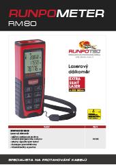 Laserový dálkoměr Runpotec Runpometer