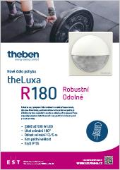Odolné čidlo pohybu Theben theLuxa R