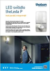 LED reflektor s čidlem pohybu theLeda P