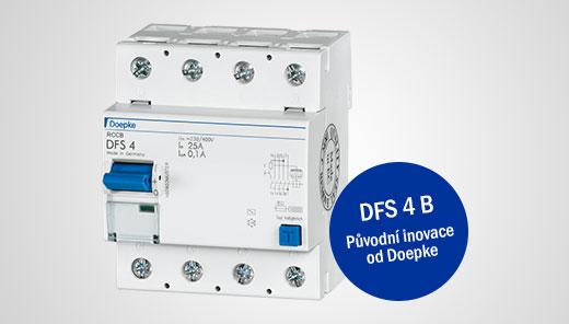 Proudové chrániče RCCB / DFS 4 B