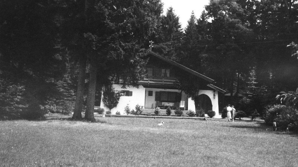 Původní sídlo Grawe v Tegernsee